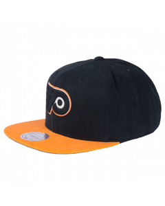 Philadelphia Flyers Mitchell & Ness Sandy Off White Snapback kačket