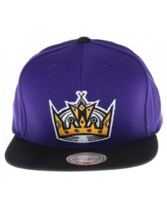 Los Angeles Kings Mitchell & Ness Current Throwback Snapback Mütze