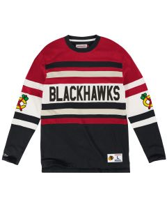 Chicago Blackhawks Mitchell & Ness Open Net majica dolgi rokav (119T CHIBLA)