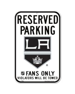 "Los Angeles Kings tabla ""Reserved Parking"""