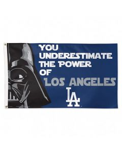 Los Angeles Dodgers Fahne Flagge Star Wars Deluxe