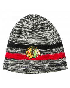 Chicago Blackhawks Mitchell & Ness Static Team Wintermütze (KW16Z)