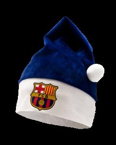 FC Barcelona božična kapa
