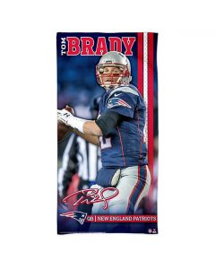 New England Patriots Badetuch 75x150 Tom Brady