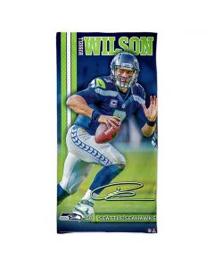 Seattle Seahawks Badetuch 75x150 Russell Wilson