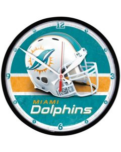 Miami Dolphins Wanduhr