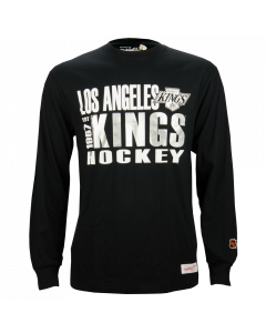 Los Angeles Kings Mitchell & Ness Quick Whistle majica dolgi rokav