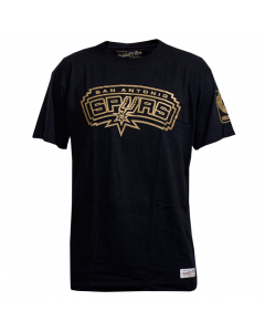 San Antonio Spurs Mitchell & Ness Winning Percentage Traditional T-Shirt
