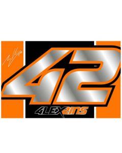 Alex Rins AR42 zastava 140x88