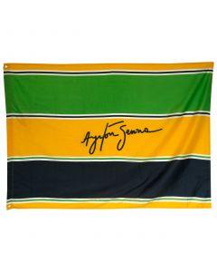 Ayrton Senna zastava 140x100