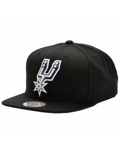 San Antonio Spurs Mitchell & Ness Dark Hologram Mütze