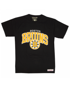 Boston Bruins Mitchell & Ness Team Arch T-Shirt