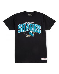 San Jose Sharks Mitchell & Ness Team Arch majica