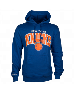 New York Knicks Mitchell & Ness Team Arch Kapuzenjacke Hoody