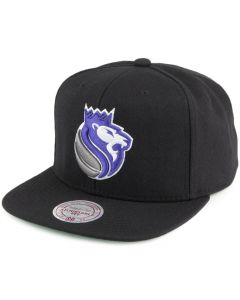 Sacramento Kings Mitchell & Ness Wool Solid/Solid 2 kačket