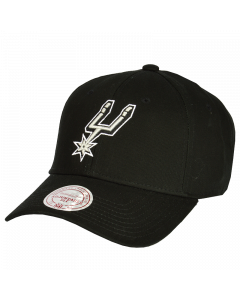 San Antonio Spurs Mitchell & Ness Low Pro Mütze