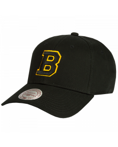 Boston Bruins Mitchell & Ness Low Pro Mütze