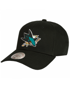 San Jose Sharks Mitchell & Ness Low Pro kačket