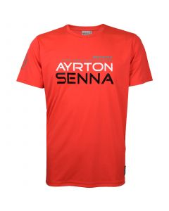Ayrton Senna McLaren Three Times World Champion T-Shirt