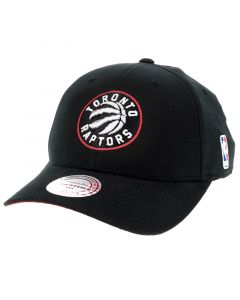Toronto Raptors Mitchell & Ness Flexfit 110 Low Pro Mütze