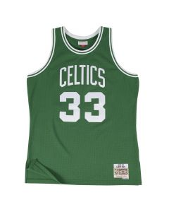 Larry Bird 33 Boston Celtics 1985-86 Mitchell & Ness Swingman dres