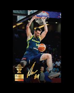 Poster Gašper Vidmar Eurobasket 2017