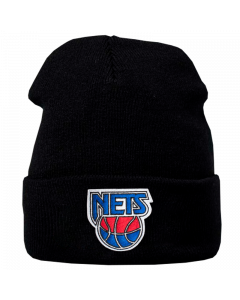 New Jersey Nets Mitchell & Ness Team Logo Cuff Wintermütze