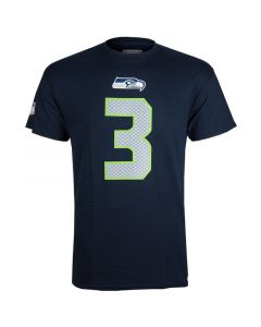 Russell Wilson 3 Seattle Seahawks T-Shirt