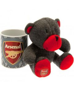 Arsenal Set Tasse und Teddy