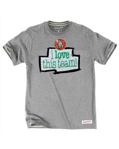 Boston Celtics Mitchell & Ness I love this team T-Shirt