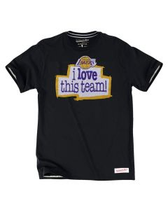 Los Angeles Lakers Mitchell & Ness I love this team T-Shirt