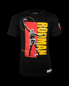 Dennis Rodman Chicago Bulls Mitchell & Ness Photo Real T-Shirt