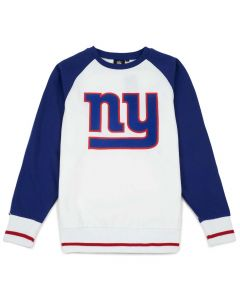 New York Giants Raglan Crew pulover