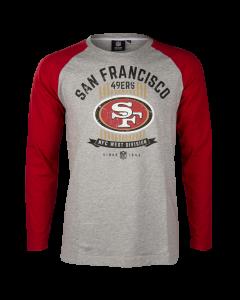 San Francisco 49ers Enzy Soft T-Shirt langarm