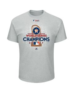 Houston Astros World Series Champions  Majestic Athletic T-Shirt 2017 (MHA5118E2MED)