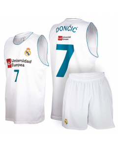 Real Madrid Baloncesto Replica Komplet Set Kinder Trikot Dončić