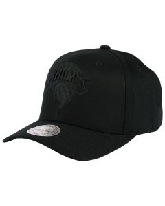 New York Knicks Mitchell & Ness Black Flexfit 110 Mütze