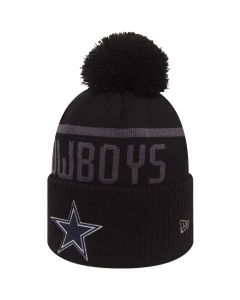 Dallas Cowboys New Era Black Collection Bobble Cuff zimska kapa (80536183)