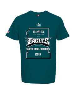 Philadelphia Eagles Majestic Athletic Super Bowl LII Champions T-Shirt (MPE6191GK)