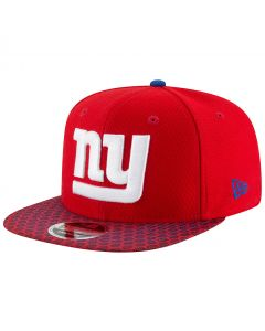 New York Giants New Era 9FIFTY Sideline OF kapa (11466472)