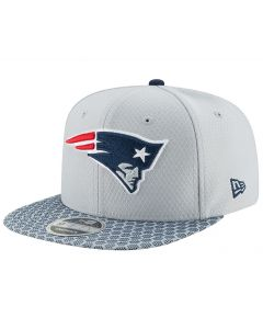 New England Patriots New Era 9FIFTY Sideline OF kačket (11466474)