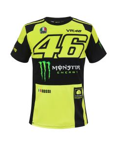 Valentino Rossi VR46 Monster Replica T-Shirt (MOMTS315928)