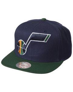 Utah Jazz Mitchell & Ness XL Logo 2 Tone kačket