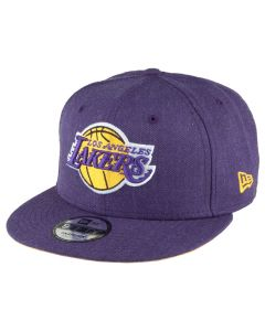 Los Angeles Lakers New Era 9FIFTY Team Heather Mütze (80536660)
