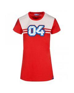 Andrea Dovizioso AD04 Damen T-Shirt