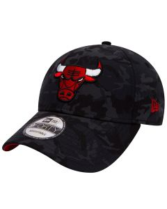 Chicago Bulls New Era 9FORTY Camo Team kapa (80536728)