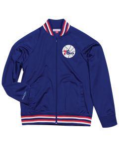 Philadelphia 76ers Mitchell & Ness Top Prospect Track Jacke