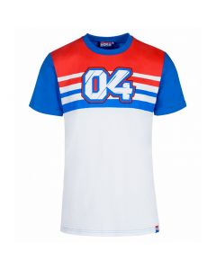 Andrea Dovizioso AD04 Stripes majica