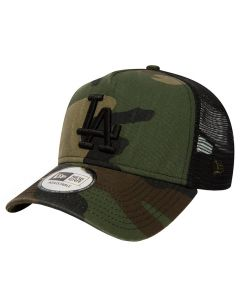 Los Angeles Dodgers New Era Washed Camo Trucker kačket (80580955)
