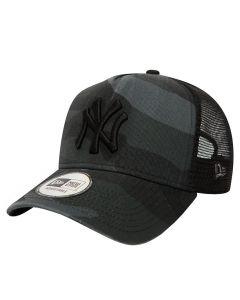 New York Yankees New Era Washed Camo Trucker kapa (80580951)